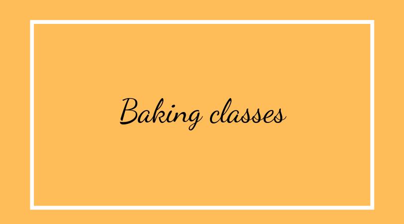 Baking classes